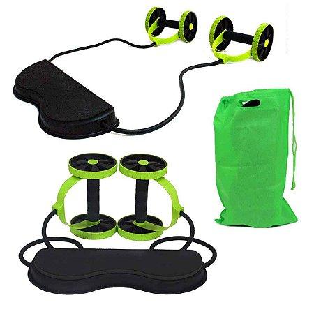 Revoflex Xtreme Musculação Exercícios Fitness C/Roda