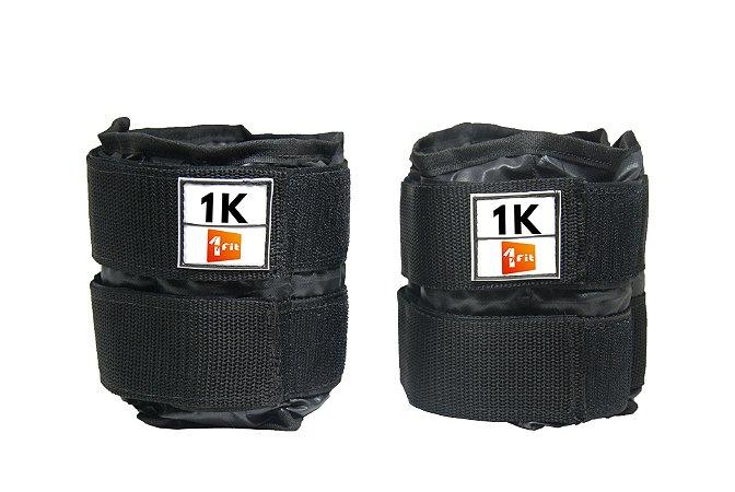 Caneleira / Tornozeleira De Peso 1KG Premium 1 Fit