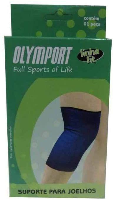 Joelheira Suporte Para Joelhos Azul Olymport