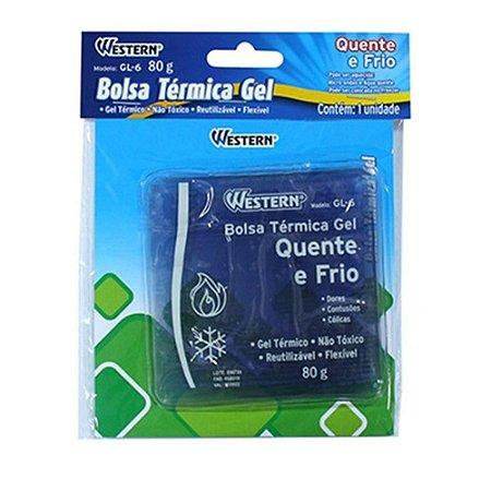 Bolsa Térmica de Gel Térmico 80g Western Reutilizável Não Tóxico Flexível