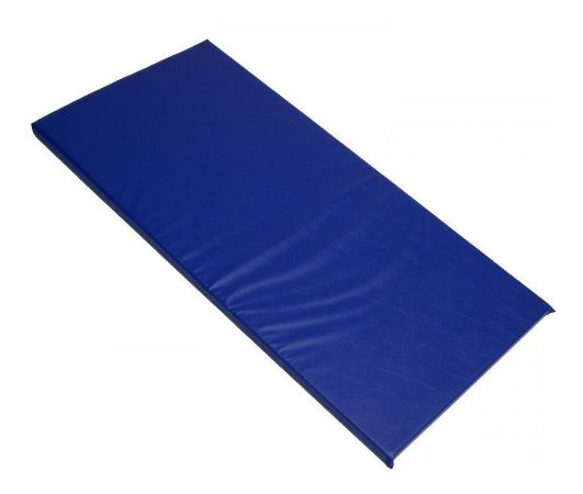 Colchonete Ginástica  e Treinamento Azul Espuma AG80 90x40x3