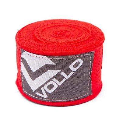 Bandagem Elástica Treino Boxe/Muay Thai Luta Vollo Vermelha