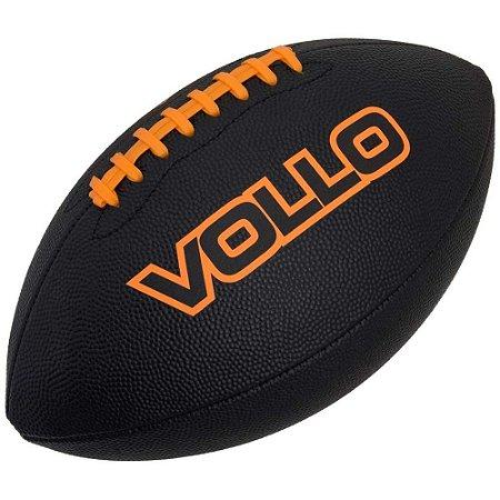 Bola de Futebol Americano Preta Vollo