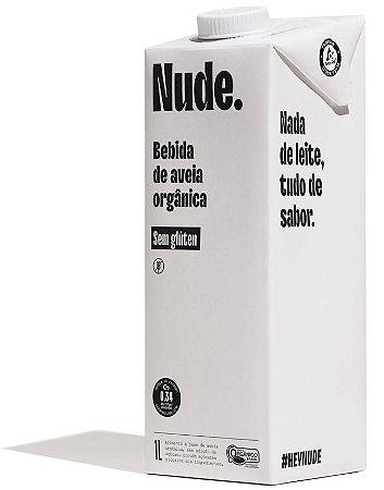 BEBIDA DE AVEIA NUDE ORGÂNICO ORIGINAL 1L
