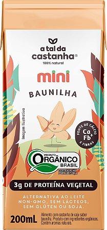 BEBIDA MINI BAUNILHA 200ML A TAL DA CASTANHA