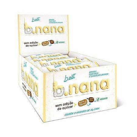 B.NANA COCO COM CHOCOLATE BRANCO B.EAT 12x30g