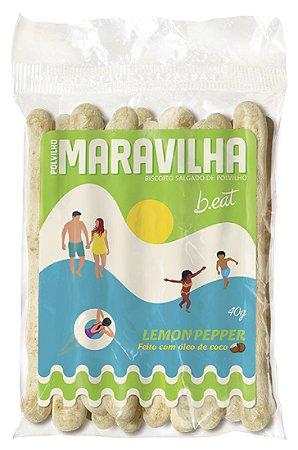 POLVILHO MARAVILHA B.EAT LEMON PEPPER 40g