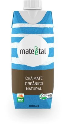 CHA MATE ORGANICO NATURAL 330ML MATE E TAL