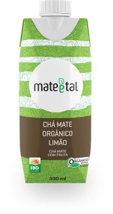 CHA MATE ORGANICO LIMAO 330ML MATE E TAL
