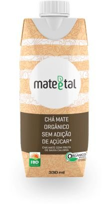 CHA MATE ORGANICO SEM ACUCAR 330ML MATE E TAL