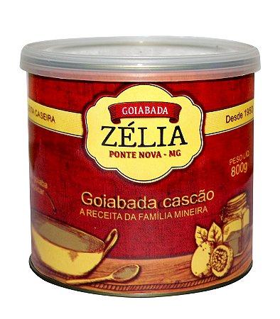 GOIABADA CASCÃO LATA 800g - ZÉLIA