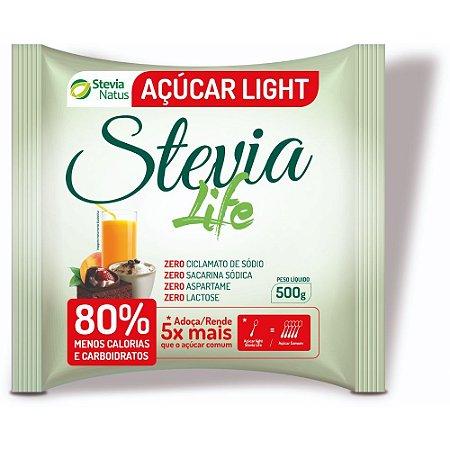ADOCANTE ACUCAR LIGHT STEVIA LIFE 500g