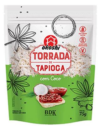 TORRADA DE TAPIOCA COM COCO 75g