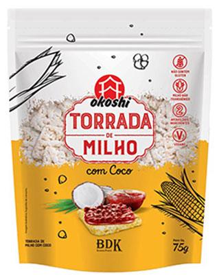 TORRADA DE MILHO COM COCO 75g