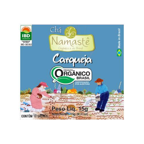 CHA CARQUEJA ORGANICO SACHE 10x15g