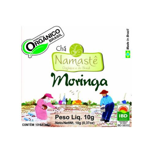 CHA DE MORINGA ORGANICO SACHE 10x10g