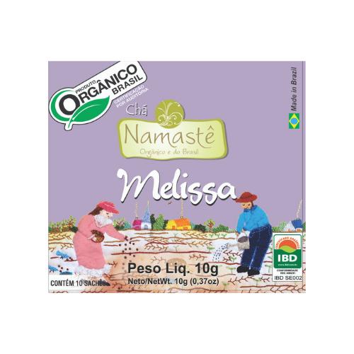 CHA MELISSA ORGANICO SACHE 10x1,5g