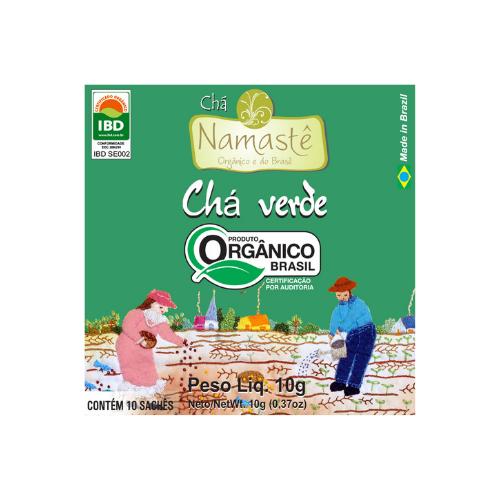 CHA VERDE ORGANICO SACHE 10x1g