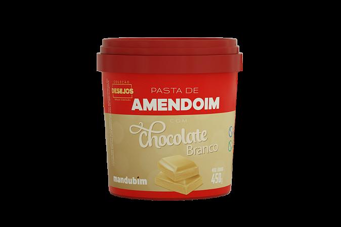 PASTA DE AMENDOIM CHOCO BRANCO MANDUBIM 450G