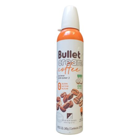 BULLET CREAM COFFEE SPRAY 240ml