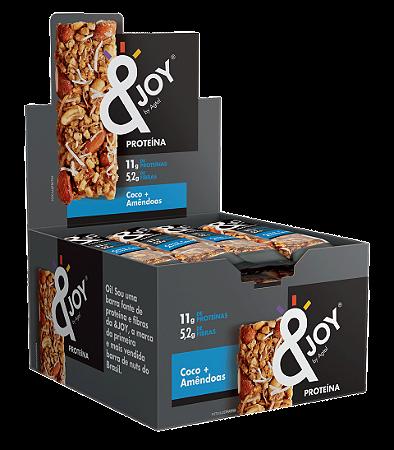 BARRA &JOY PROTEIN NUTS COCO E AMENDOA 12 X 35G