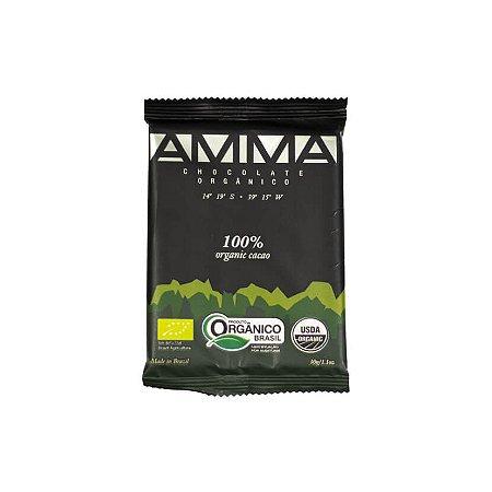 CHOCOLATE 100% CACAU ORGANICO 15x30g
