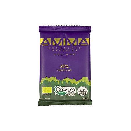CHOCOLATE 85% CACAU ORGANICO 15x30g