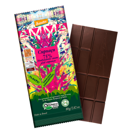 CHOCOLATE 75% CACAU CUPUACU 6x80g