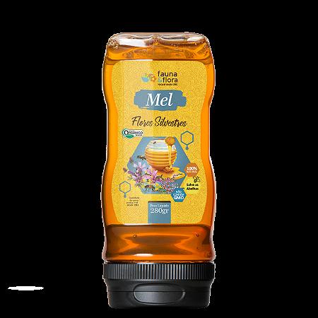 MEL SILVESTRE ORGÂNICO BISNAGA 280G