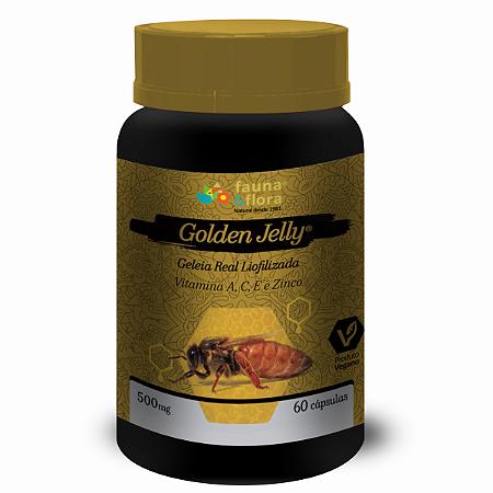 GOLDEN JELLY GELEIA REAL LIOFILIZADA 30CAPS