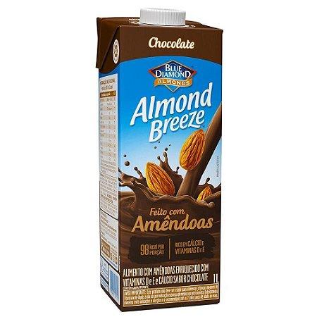BEBIDA AMENDOA ALMOND BREEZE CHOCOLATE 1L