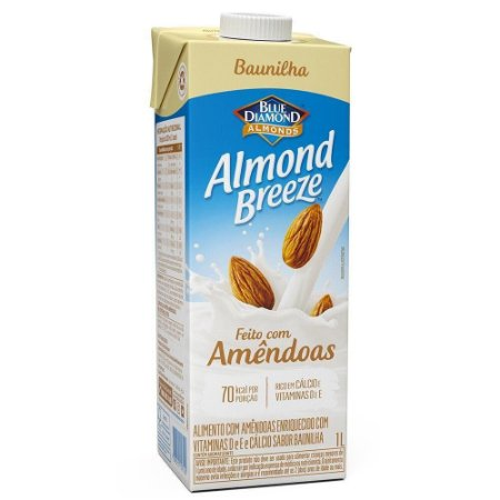 BEBIDA AMENDOA ALMOND BREEZE BAUNILHA 1L