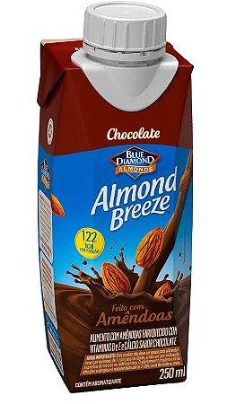 BEBIDA AMENDOA ALMOND BREEZE CHOCOLATE 250ML