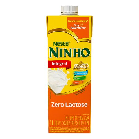 LEITE INTEGRAL ZERO LACTOSE NINHO 1L