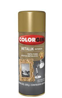 SPRAY METALICO METALLIK COLORGIN