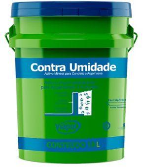 ADITIVO P/MASSA E CONCRETO 3,6L - CONTRA UMIDADE
