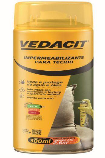 IMPERMEABILIZANTE P/TECIDOS 300ML - SPRAY - VEDASPRAY TECIDO