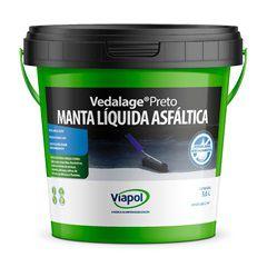 MANTA ASFALTICA LIQUIDA 3,6KG PRETO - VIAFLEX