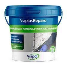 IMPERMEABILIZANTE P/REPARO CONTRA MOFO 04KG - VIAPLUS REPARO