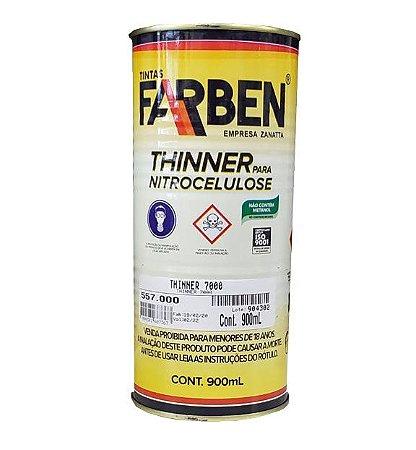 THINNER ACABAMENTO 0,9L - 7000 - FARBEN