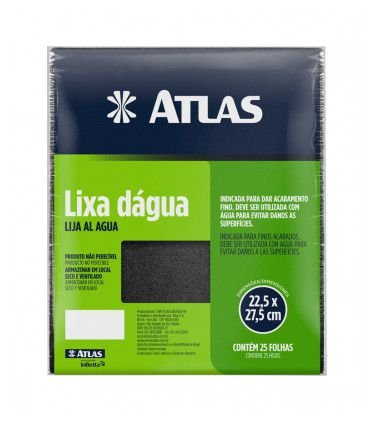 LIXA DAGUA 150 - ATLAS