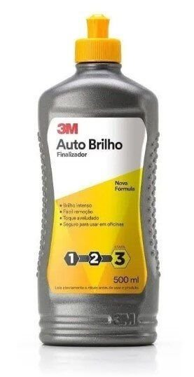 CERA AUTO BRILHO 500ML - 3M
