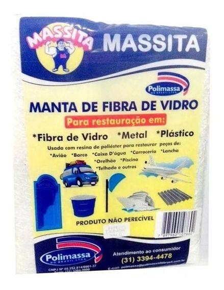 MANTA FIBRA DE VIDRO 300G - MASSITA