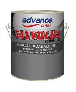 FUNDO P/GALVANIZADO FOSCO 3,6L BRANCO - GALVOLUX 1855