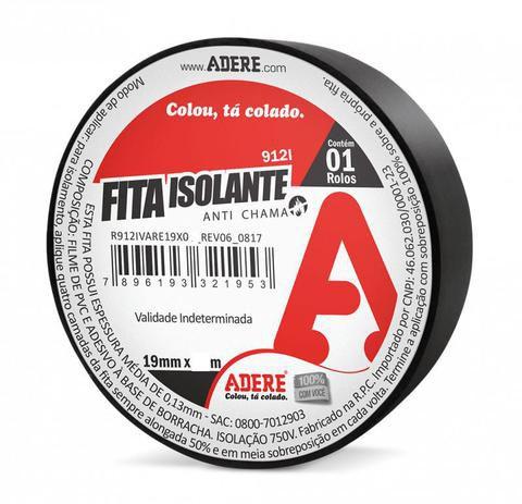 FITA ISOLANTE 19X10 - 912I - ADERE