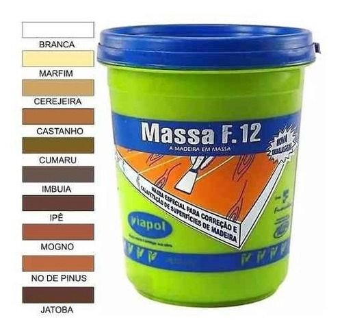 MASSA PARA MADEIRA F12