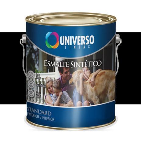 ESMALTE FOSCO 0,1125L PRETO - UNIVERSO 1/32