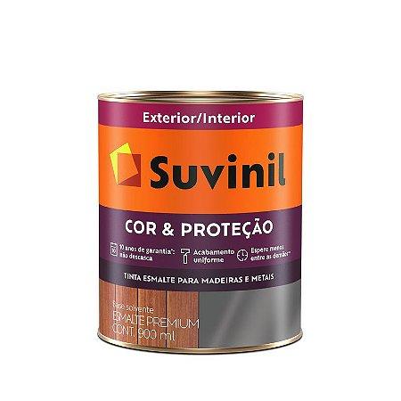 ESMALTE FOSCO PREMIUM 0,9L - COR & PROTECAO - SUVINIL