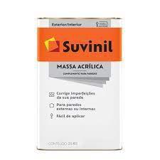 MASSA ACRILICA - SUVINIL