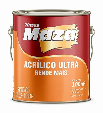 TINTA ACRÍLICA FOSCA STANDARD ULTRA - MAZA